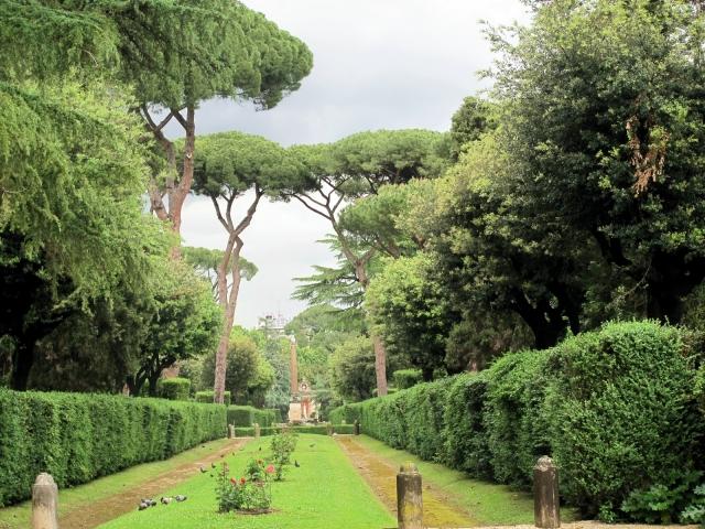 garden in rome